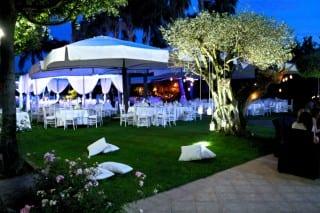 cerimonia serale nozze villa feanda eventi